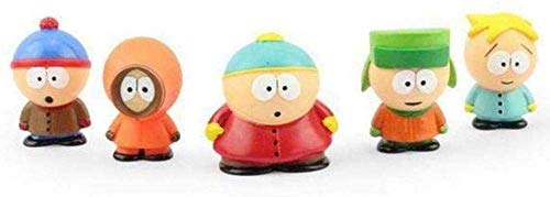 DHTOMC 5 Stück South Park Kenny Eric Action Figur Toy Collection Xping