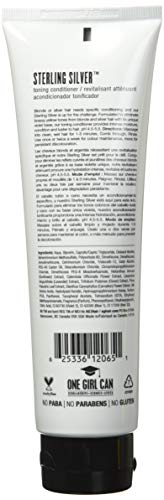 AG Hair Colour Care Sterling Silver Toning Conditioner, 6 Fl Oz