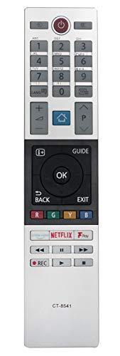 ALLIMITY RC602S JUR1 T/él/écommande remplac/ée pour TCL Android 4K UHD TV U49C7006 U55C7006 U65C7006 U75C7006 U55X9006 U65X9006 U43P6046 U49P6046 U55P6046 U60P6046 U65P6046 U65S9906 50DP660