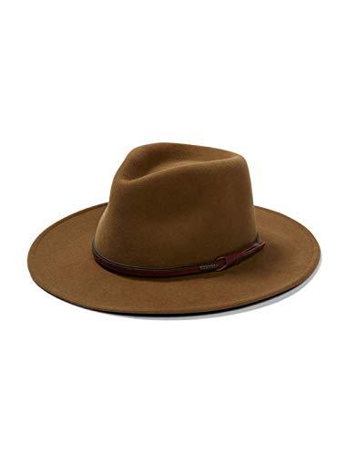 Stetson Bozeman Light Brown Crushable Wool Felt Hat TWBOZE-8130C7