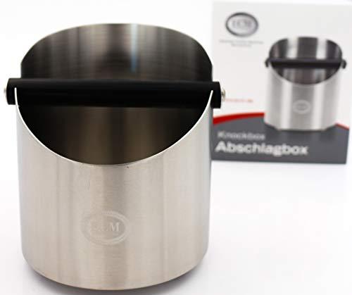 ECM 89620 Kaffee-Abschlagbox, edelstahl satiniert