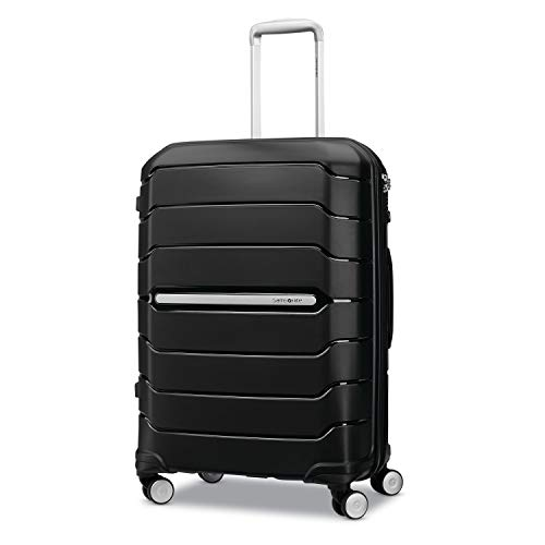 Samsonite Freeform Hardside Expandable with Double Spinner Wheels, Black