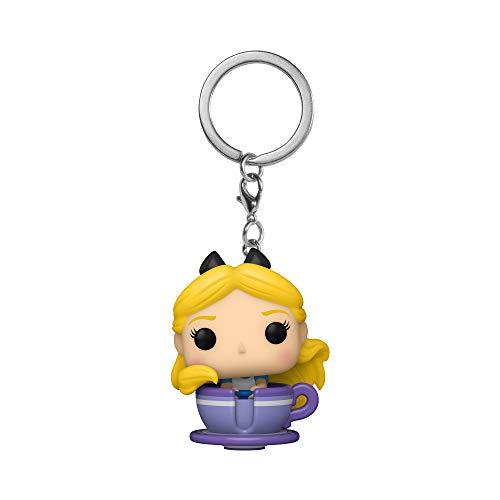 Pop! Vinyl Keychain: Disney 65- Alice in Teacup Figure Standard