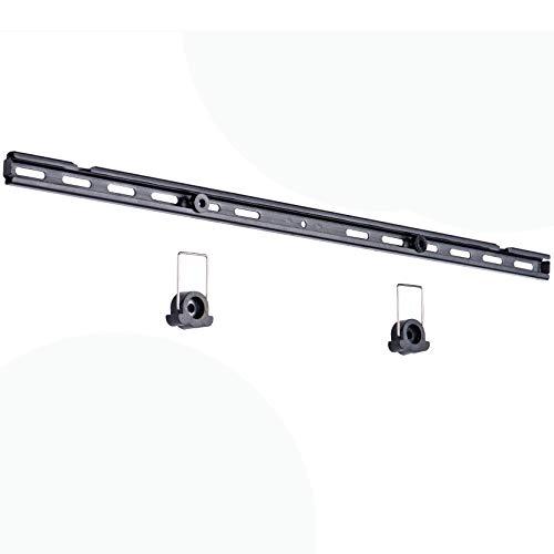 Amazon Basics - Soporte de pared plano de bajo perfil con riel, para televisión, de 81,3 a 177,8 cm (32-70'), gama Essentials