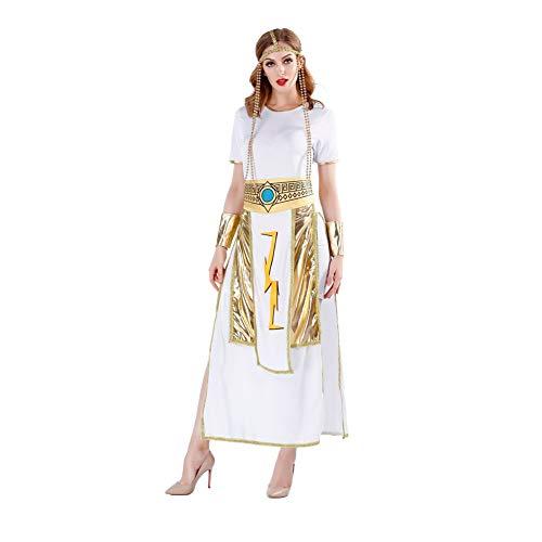 FGDJTYYJ König Königin Cosplay Kostüm, Gott des Krieges Paar Alten ägyptischen Pharao Kostüm Film Cosplay Kostüm,Women's,M