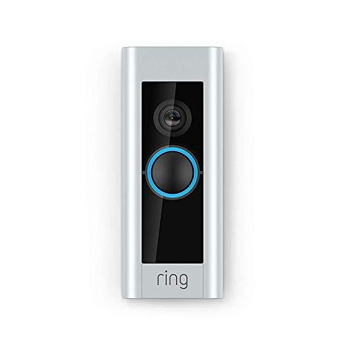 Ring Video Doorbell Pro con cableado, incluye un Chime (1.ª generación), resolución HD 1080p, comunicación bidirecci