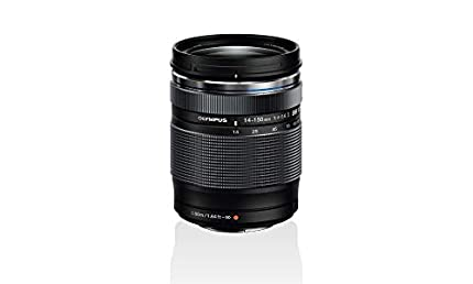 Objetivo Olympus M.Zuiko Digital ED 14-150mm F4-5.6 II, zoom estándar, adecuado para todas las cámaras MFT (modelos Olympus OM-D & PEN, serie G de Panasonic), negro