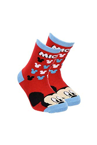 Suncity Mickey Chaussettes antidérapantes Rouge Taille 23/26
