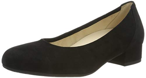 Gabor Shoes Damen Comfort Basic Pumps, Schwarz (Schwarz (A.Obl) 47), 40 EU