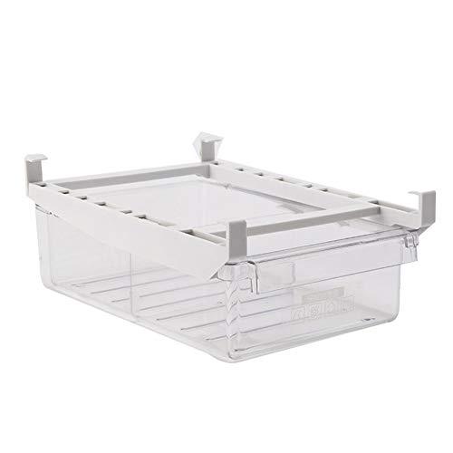 Lynn Refrigerator Egg Storage Box Drawer Type Fridge Organizador Fridge Shelf Holder Kitchen Organizer Space Saver Stackable