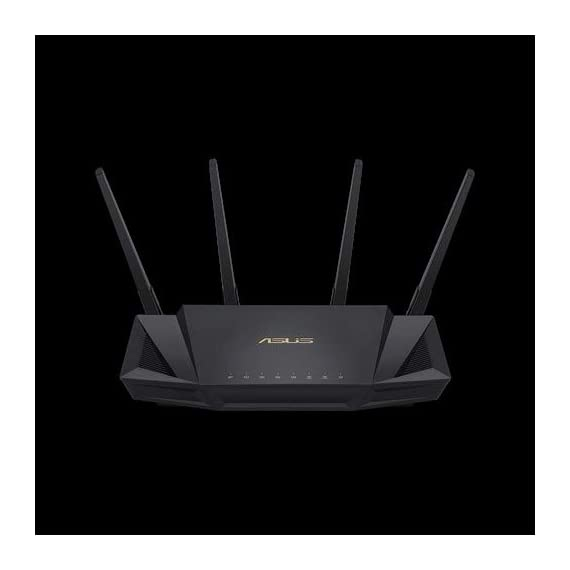 ASUS RT-AX58U Dual Band WIFI Router (RT-AX3000) (Renewed) 2 The Next Gen WiFi Standard - Future proof your home network with the next-gen WiFi 6 technology, providing up to 2. 7x faster speed than the previous WiFi generation featuring OFDMA and MU-MIMO technology. Ultra-Fast Wi-Fi - RT-AX3000 supports 160MHz bandwidth and 1024-QAM, boasting a total network speed of 3000 Mbps - 575Mbps on the 2. 4GHz band, and 2402GHz on the 5GHz band. The Most Powerful Mesh System — AiMesh technology allows you to establish an even stronger mesh WiFi system with other ASUS AiMesh compatible routers, ensuring stable and seamless whole home coverage.