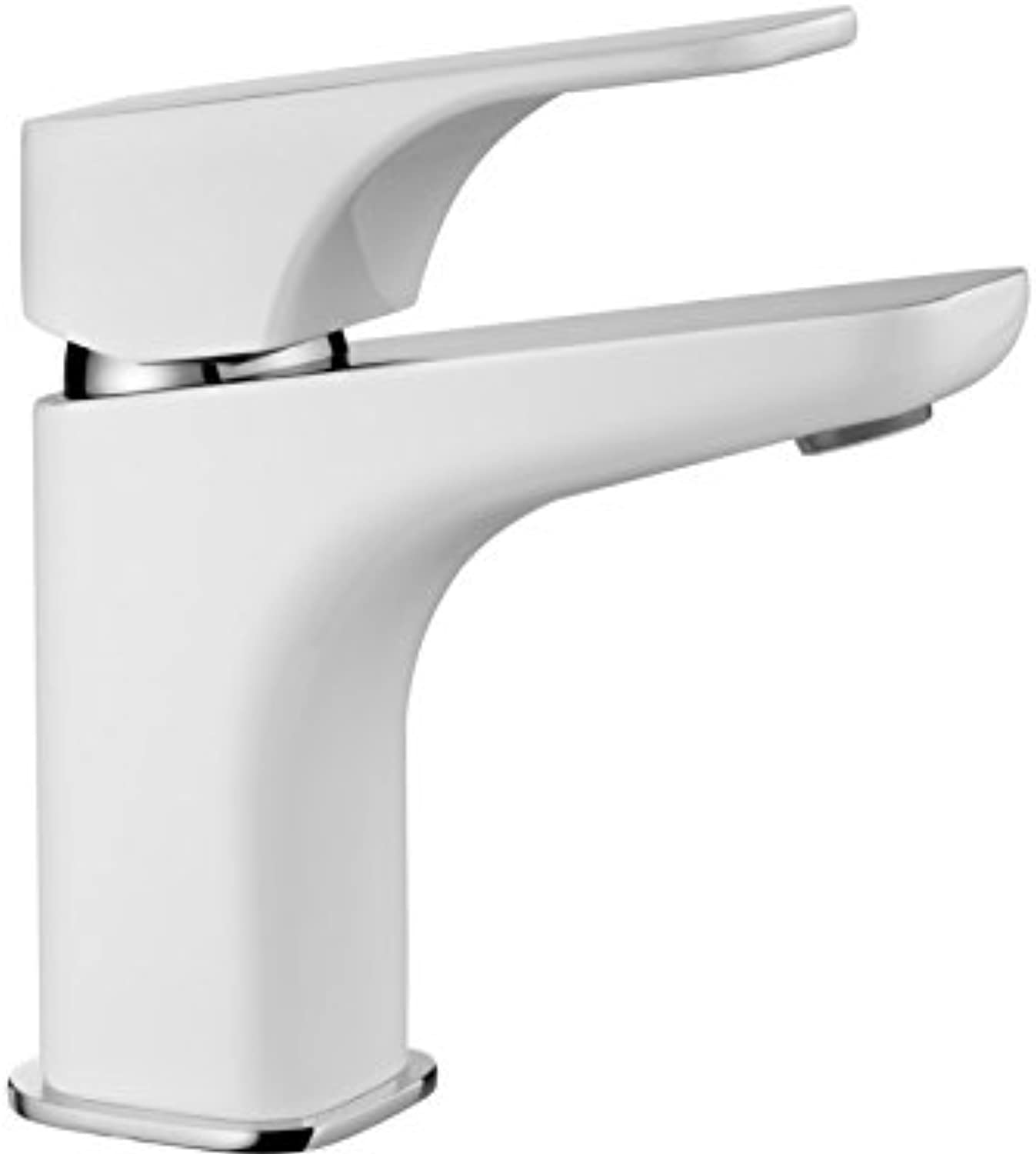 High Quality Handle Basin Mixer Tap High Pressure Basin Mono Mixer Bathroom Tap White Gloss?–?New Product?–?Model  Hiazynt Granite