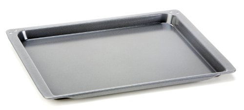Backblech original 438254 - passend für div. Herde / Backofen Neff Constructa - 465 x 375 x 25 mm // emailliert