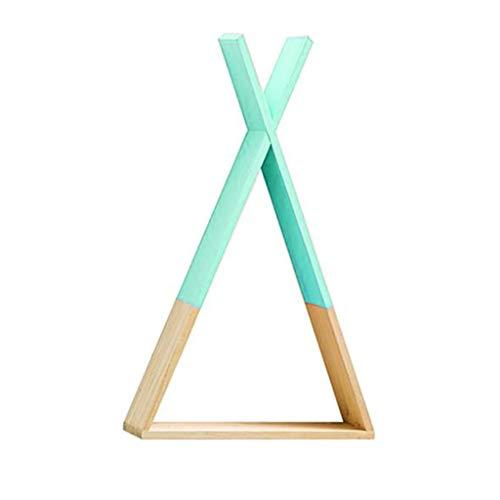 Losping Nordic Stil Baby Holz Dreieck Regal Schöne Wandbehang Trigon Lagerung Bücherregal Home Kinder Baby Zimmer DIY Dekor Geschenk