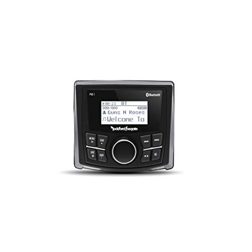 "Rockford Fosgate Punch Marine PMX-1 Digital Media Receiver with 2.3"" Dot Matrix LCD Display"