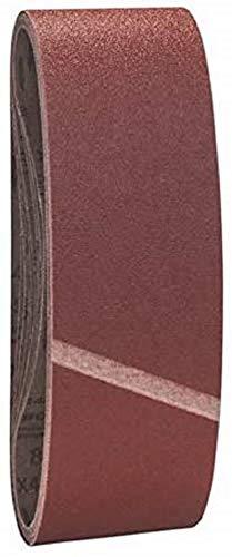 Bosch Professional Schleifband Best for Wood and Paint Holz und Farbe für Bandschleifer (10 Stück, Körnung 80, X440)