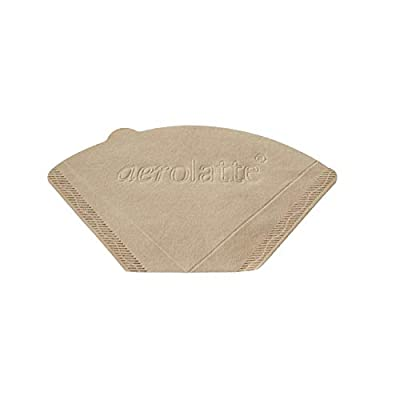 aerolatte Coffee Filter Papers, No. 2 Size, Pack of 80, Beige, 0.1 x 10.5 x 16 cm