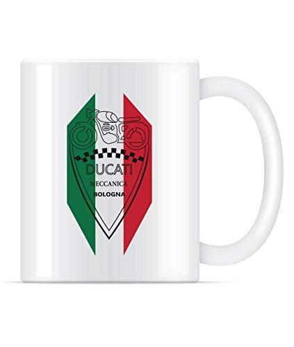 Ducati Meccanica Bologna Coffee Mug For Women and Men Tea Cups