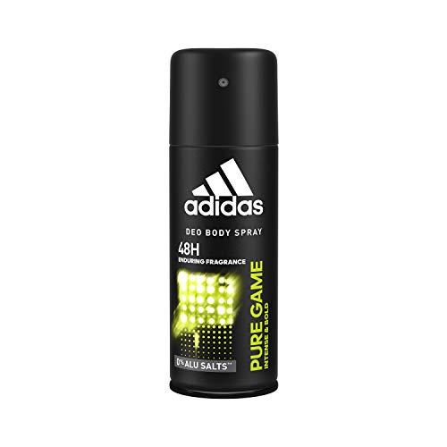 adidas Pure Game Deos Body Spray für Herren, 6er Pack (6 x 150 ml)