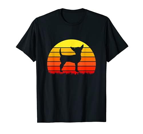 Regalo de criador de perros para animales domésticos retro Chihuahua Camiseta
