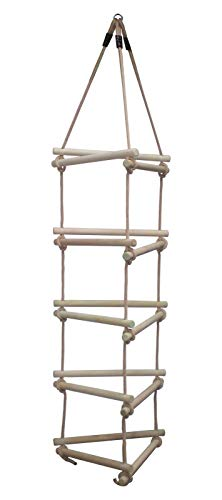 Wickey Gebreide ladder, 3 zijden, klein, 5 treden, klimladder