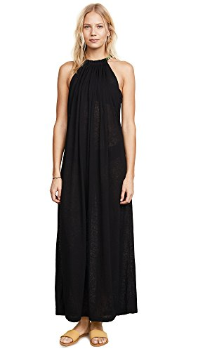 Pitusa Women's Aegean Cover Up, Black, One Size