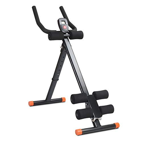CAMORSA Adjustable Ab Workout Machine Abdominal Trainer Leg...