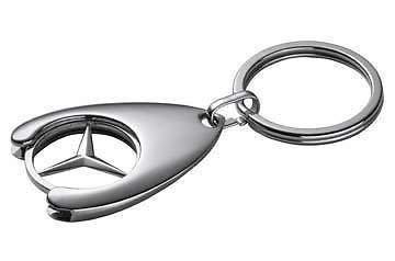 Schlüsselanhänger, Token Caddy Mercedes Klasse A B C E S SLK SL CL CLK ml G CLS