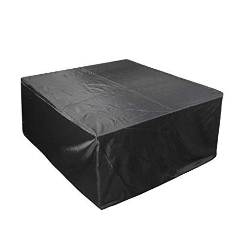 Housse for Table de Jardin Housse de Protection Bâche Imperméable, Anti-UV/Anti-Vent/Imperméables Tissu De 210D Oxford for Meubles tels que Tables et Chaises, Noir (Size : 170x94x70cm)