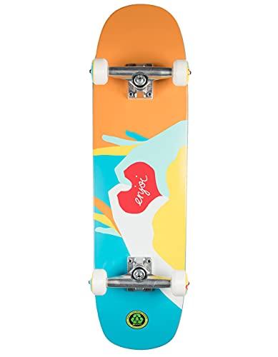 Cruiser Completo Enjoi Skateboard Premium Heart Multi 31.8''