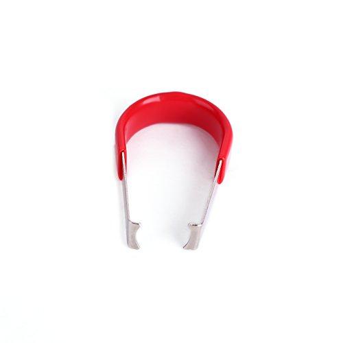 Surepromise Abzieher Demontagezange Demontageschlüssel für Kappen Felgenschloss Radmuttern Kappe Radschrauben Radschraubenkappen (Set 2)