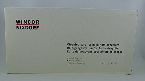 Wincor Nixdorf Original 20 x Cleaning Card´s, 01750044499, Reinigungsstreifen
