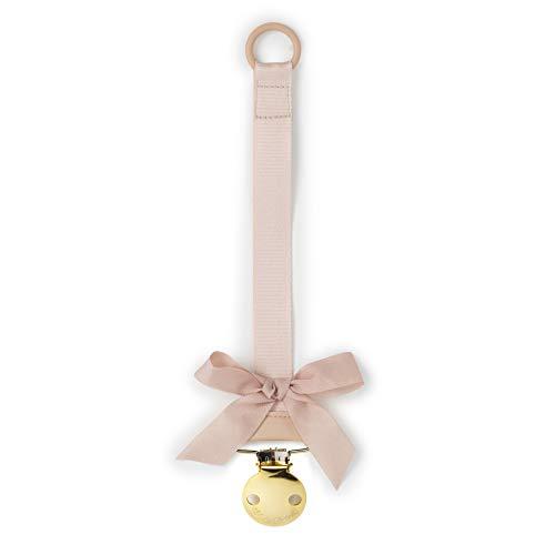 Elodie Details(エロディディティールズ) おしゃぶりクリップ おしゃぶりホルダー おしゃれ 新生児 北欧 Pacifiers clips Powder Pink 103170