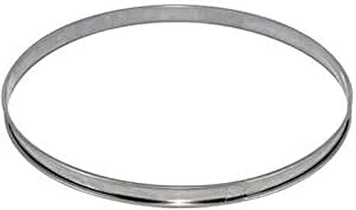DE BUYER -3091.28N -cercle a tarte inox ht 2cmbd roule ø28
