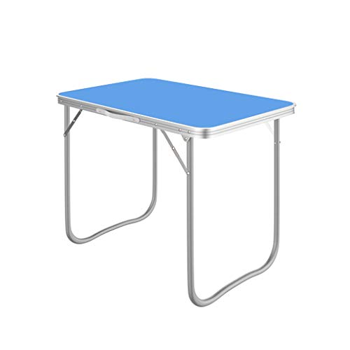 Folding table Einfacher Klapptisch für den Haushalt, tragbarer Klapptisch für die Picknickparty im Freien, Computertisch, Lerntisch für Kinder 70 x 50 cm
