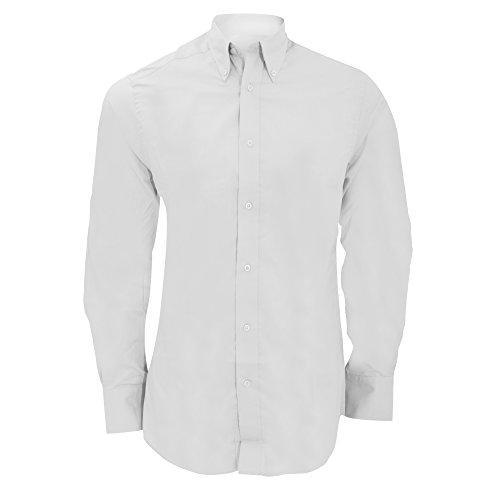 KUSTOM KIT - Chemise à Manches Longues - Homme (S) (Blanc)