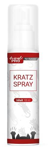 Animal Pro - Kratz Spray - 100 ml / Anti Kratz Spray Katzen / natürliches Fernhaltespray gegen kratzen an Möbeln, Textilien, Vörhänge / Katzenschreck