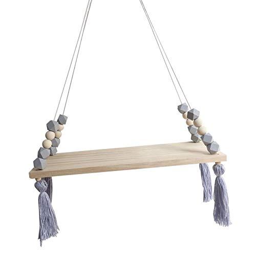 Nordic Display - Estantería para colgar en la pared (cuerda flotante)