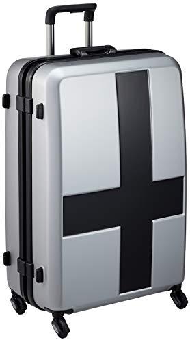 [イノベーター] スーツケース 大型 カードキー 消音キャスター INV68T 保証付 90L 68 cm 4.8kg グレー/ブラック