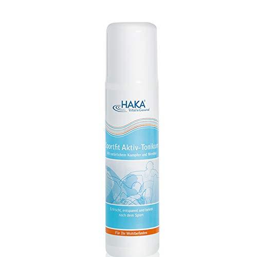 HAKA Tonikum Sportfit Aktiv I 200ml I Kühlendes Tonikum für müde Beine I Erfrischend, entspannend und belebend nach Sport und anstrengenden Tagen