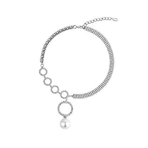 YZXYZH Collar De Anillo Grande Collar De Mujer