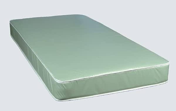 2K Designs Staph Check Vinyl Waterproof Twin Size Innerspring Mattress