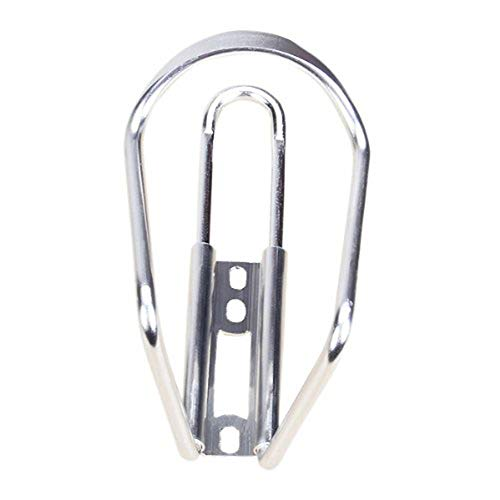 1Pc Lega di Alluminio Bicicletta Bottiglia di Acqua Holder Rack Outdoor Ciclismo Staffa Gabbia per Parti di Bici Argento, Accessori Bici