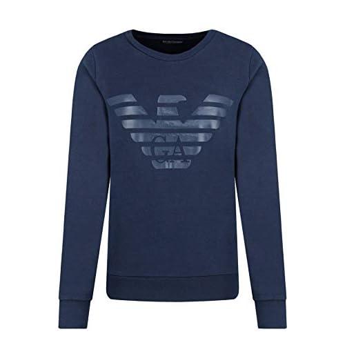 31piPv+qhHL. SS500  - Emporio Armani Terry Megalogo Sweater