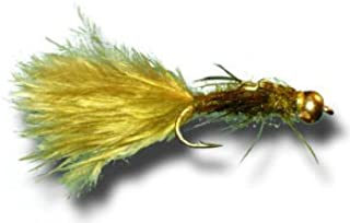 BH Olive Damsel Fly Fishing Fly