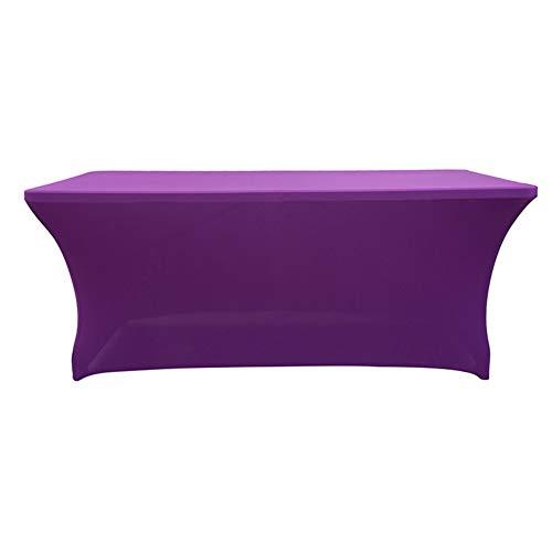 Stretch Tischdecken,elasthan Polyester Tisch-Abdeckung Rechteckige Ausgestattet Für Gfgshdf In Ihrem Zuhause Partei Bankett-tische Messen Anbieter-f 122 * 60 * 76cm