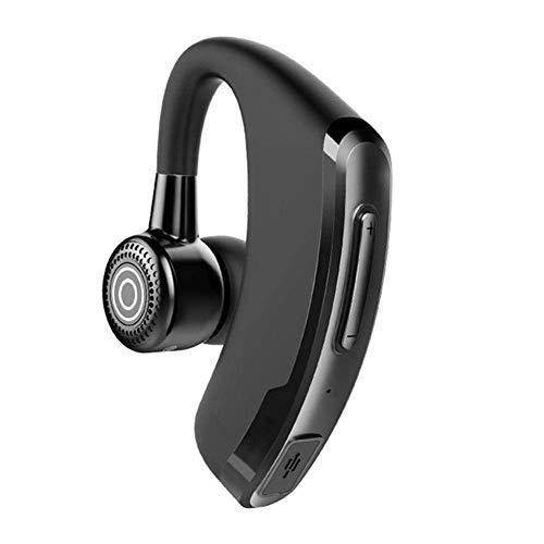 Bluetooth-Headset, kabelloser Bluetooth-Ohrhörer V5.0 IPX7 Freisprech-Kopfhörer mit integriertem Mikrofon für Autofahren/Business/Büro, kompatibel mit iPhone und Android