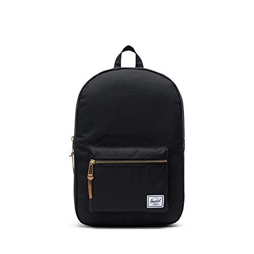 Herschel Settlement Backpack, Blk, Mid-Volume 17.0L