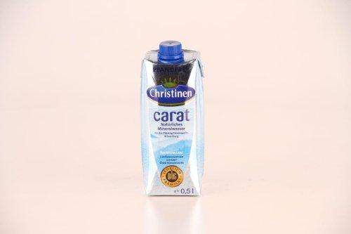 Christinen Carat - natürliches Mineralwasser - 500ml