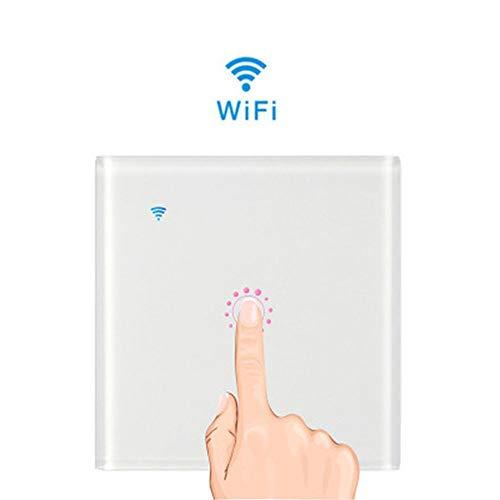 WiFi Smart Touch,Sonoff WiFi Smart Touch Switch para Funciones De Temporización De Amazon Y Google, Control De Sus Dispositivos Desde Cualquier Lugar, No Se Requiere Concentrador
